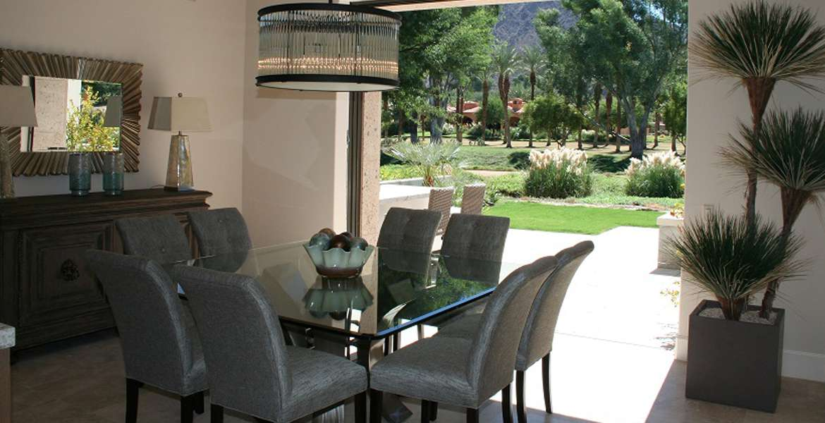 Hideaway outdoor dining furniture