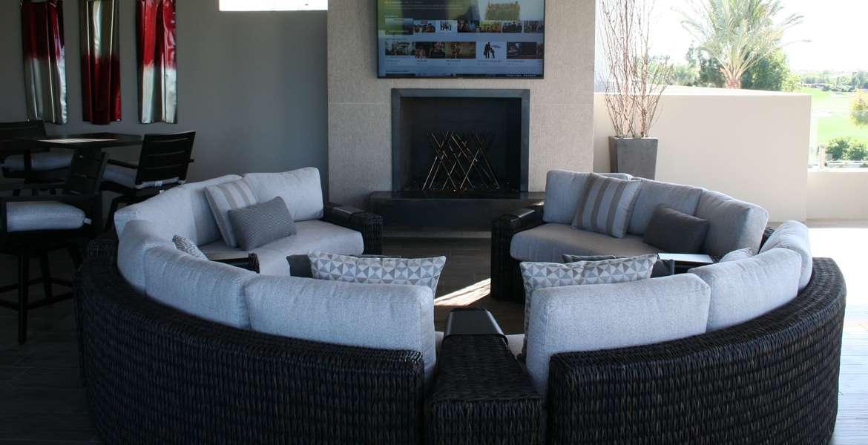 outdoor circular sectional