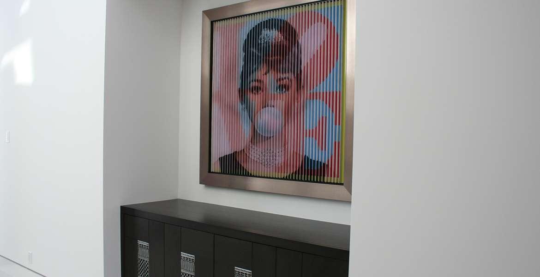 Madison Club hallway art