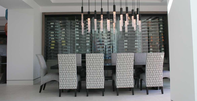 Madison Club contemporary dining set