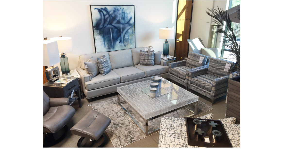 pearl gray sectional