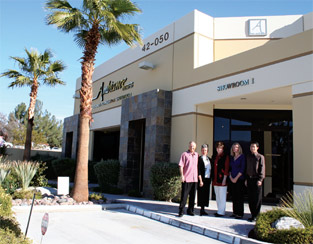 Palm Desert Furniture Showroom